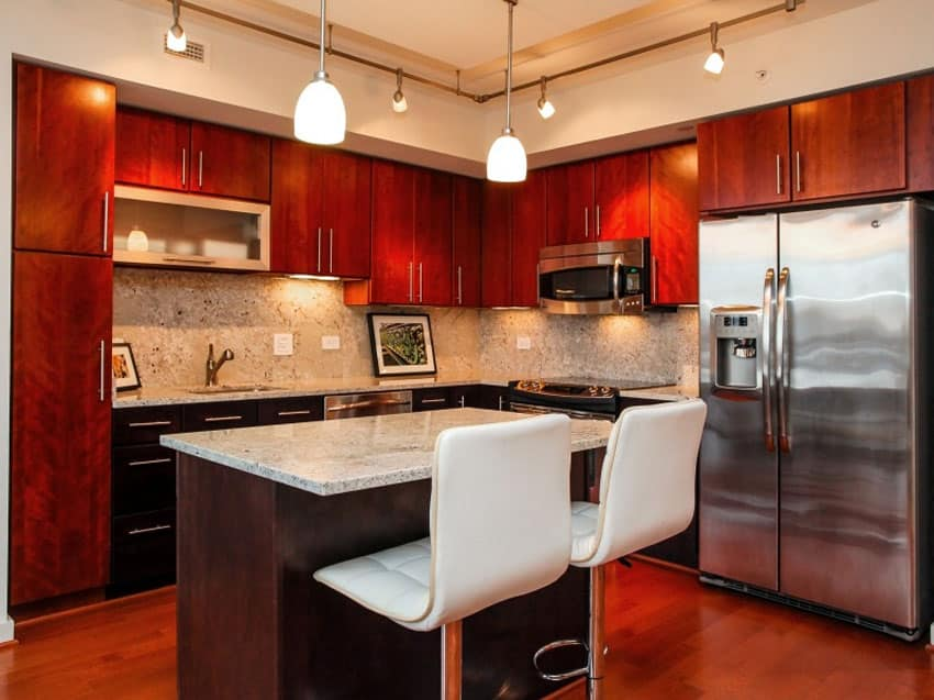 23 cherry wood kitchens cabinet designs amp ideas cherry kitchen cabinets for more beautiful workspace