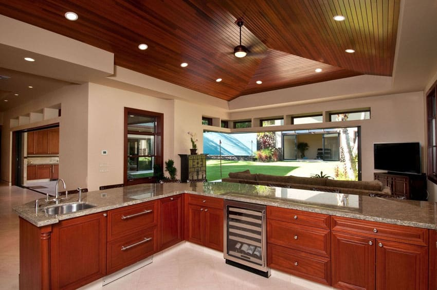 28+ [ kitchens with cherry cabinets ] | 23 cherry wood kitchens