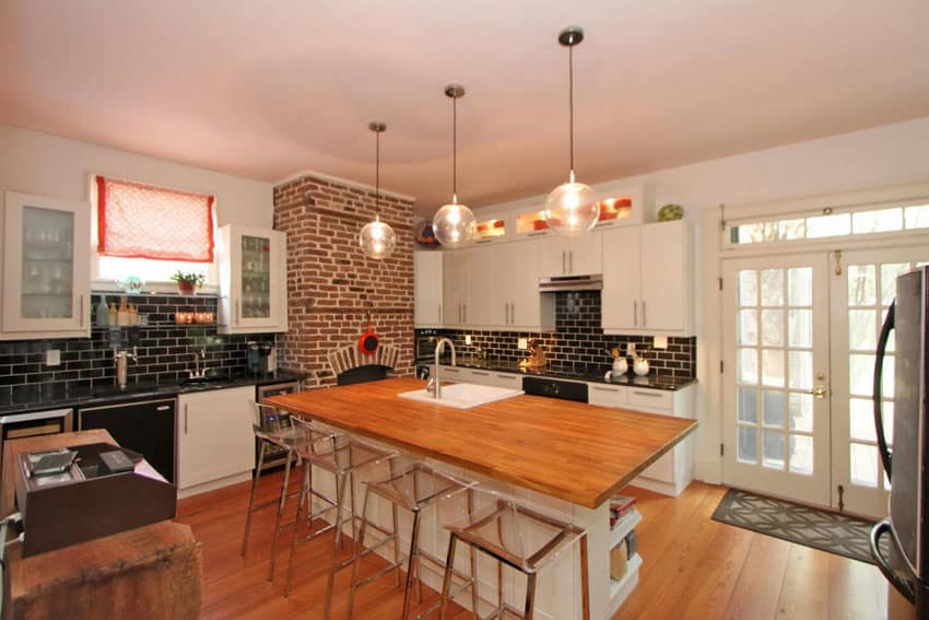 47 brick kitchen design ideas tile backsplash amp accent brick tiles for backsplash in kitchen home design ideas