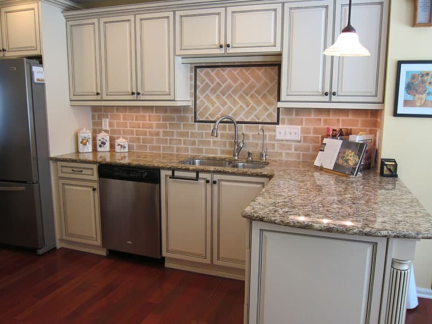 47 Brick Kitchen Design Ideas Tile Backsplash amp Accent