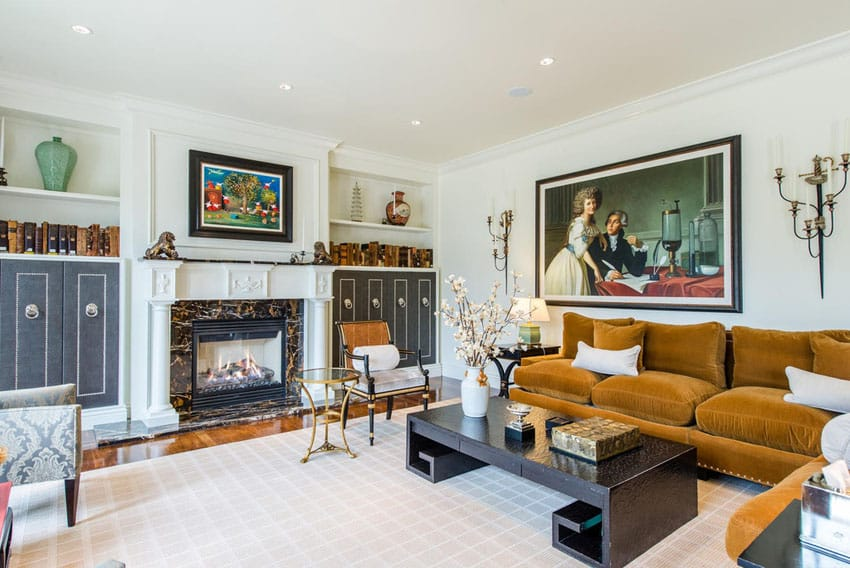 French provincial living room design