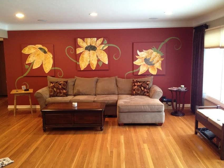 39 Beautiful Living Rooms With Hardwood Floors Designing