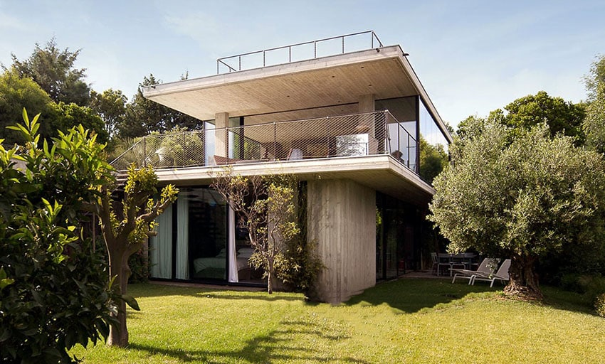 Modern concrete house design designing idea for Cement home designs