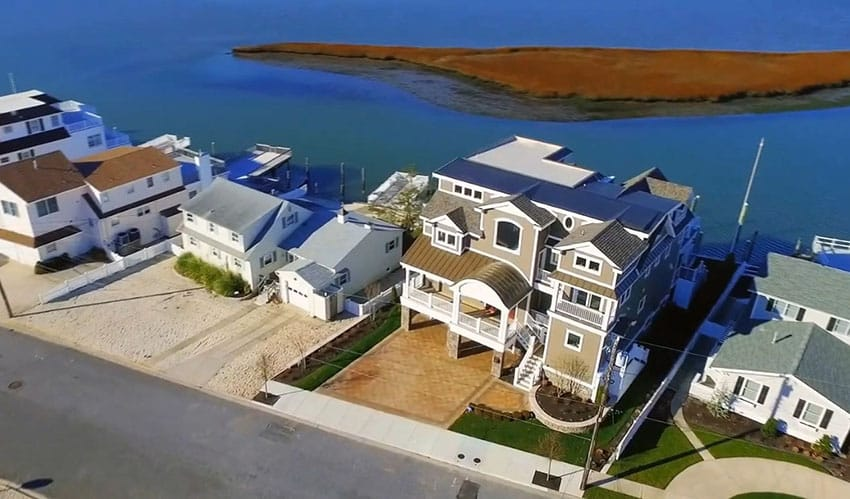 4 story home on the bayfront