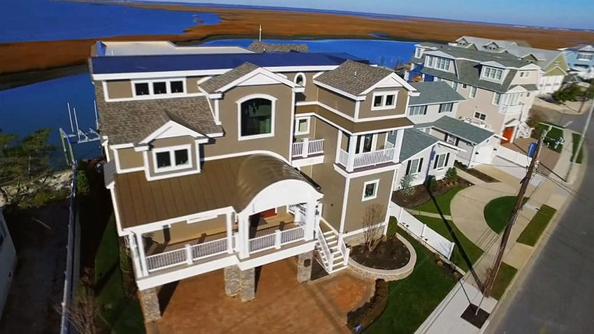 4 story house on the waterfront