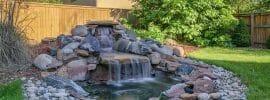 backyard-stone-water-feature-waterfall