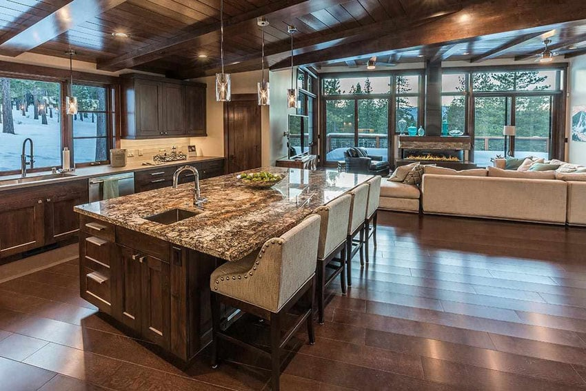 35 Craftsman Kitchens with Beautiful Cabinets - Designing Idea