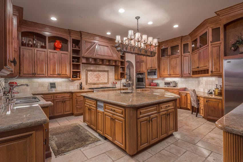 Beautiful solid wood cabinet craftsman kitchen