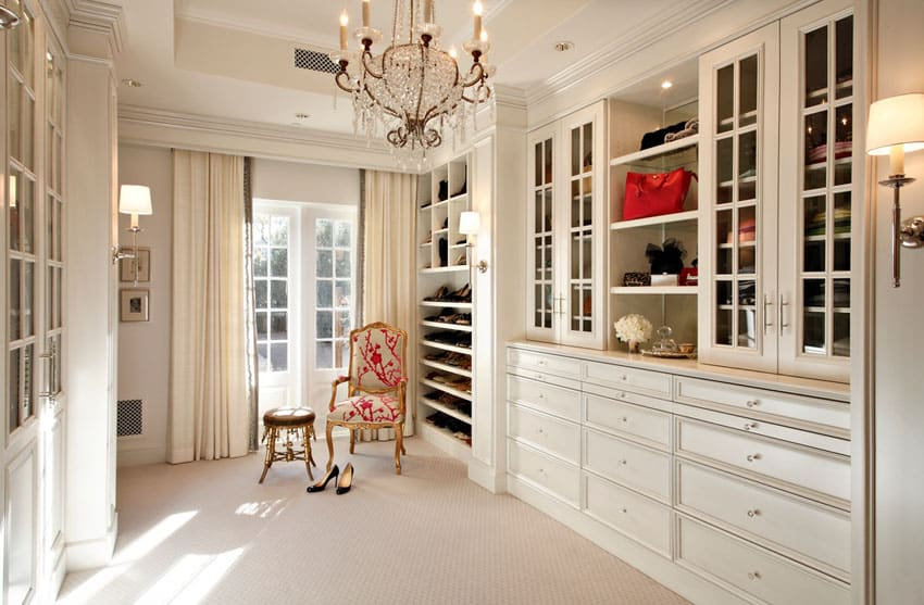 30 beautiful walk in closet designs designing idea - Pictures of walk in closets ...