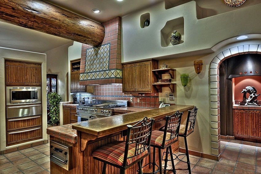 23 beautiful spanish style kitchens design ideas