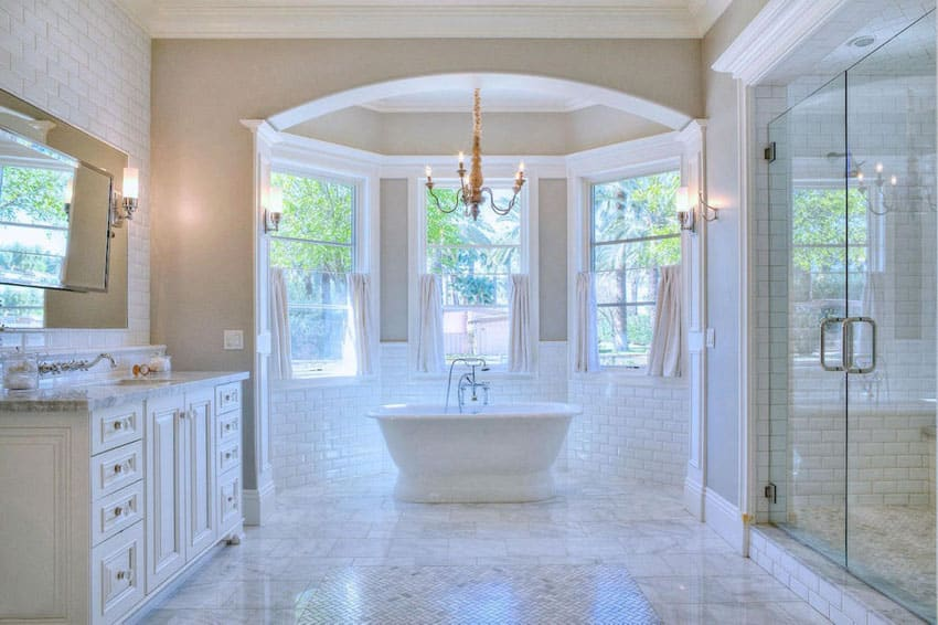 Beautiful master bathrooms images for Beautiful bathrooms