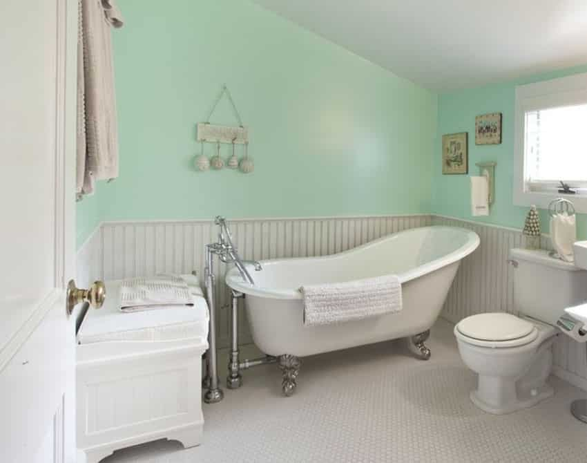 Blue Cottage Bathrooms