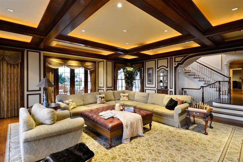 30 Craftsman Living Rooms Beautiful Interior Designs