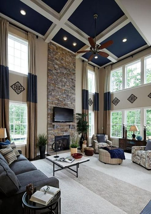 26 Blue Living Room Ideas Interior Design Pictures Designing Idea