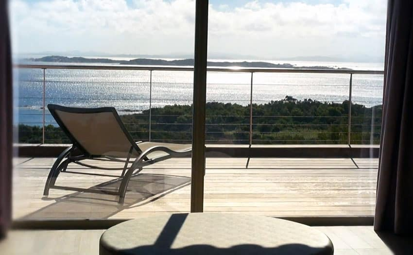 Ocean view from second story bedroom