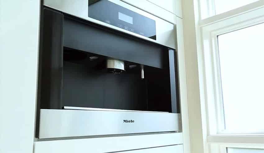 Miele built in coffee maker luxury appliance