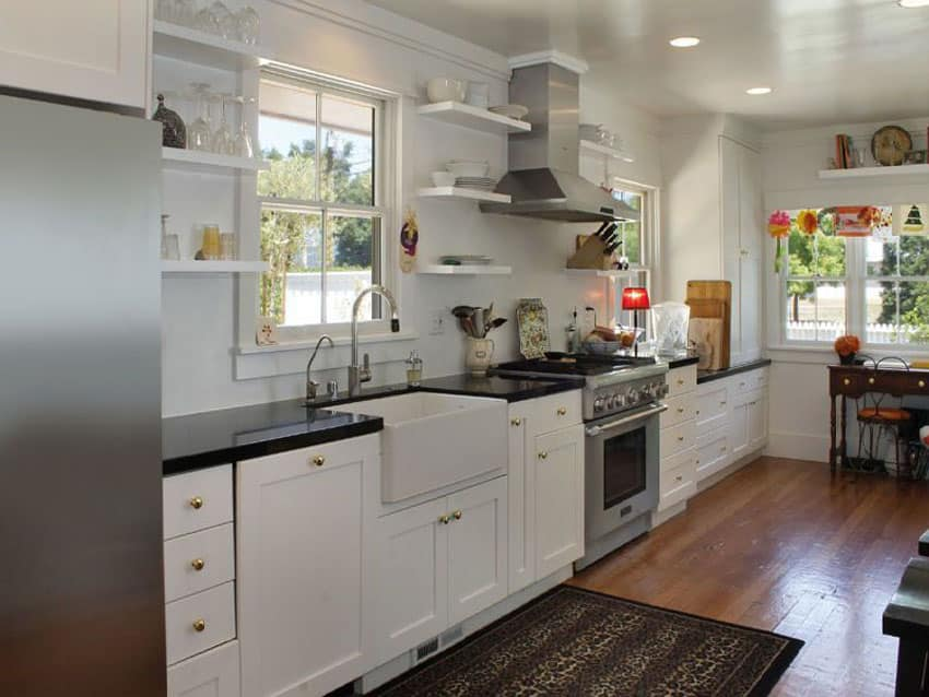 Small One Wall Kitchen Design Ideas ~ Gorgeous one wall kitchen designs layout ideas
