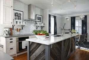 23 Reclaimed Wood Kitchen Islands (Pictures)