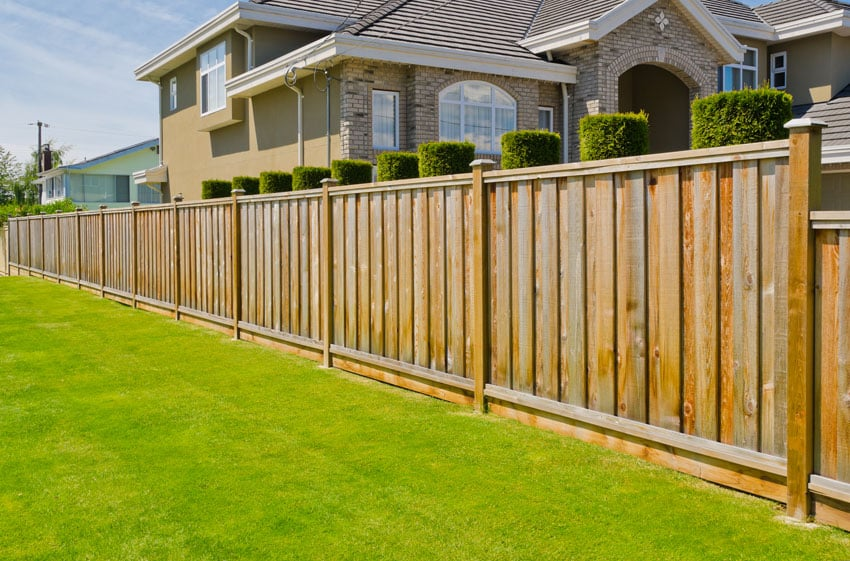 Board on board fence