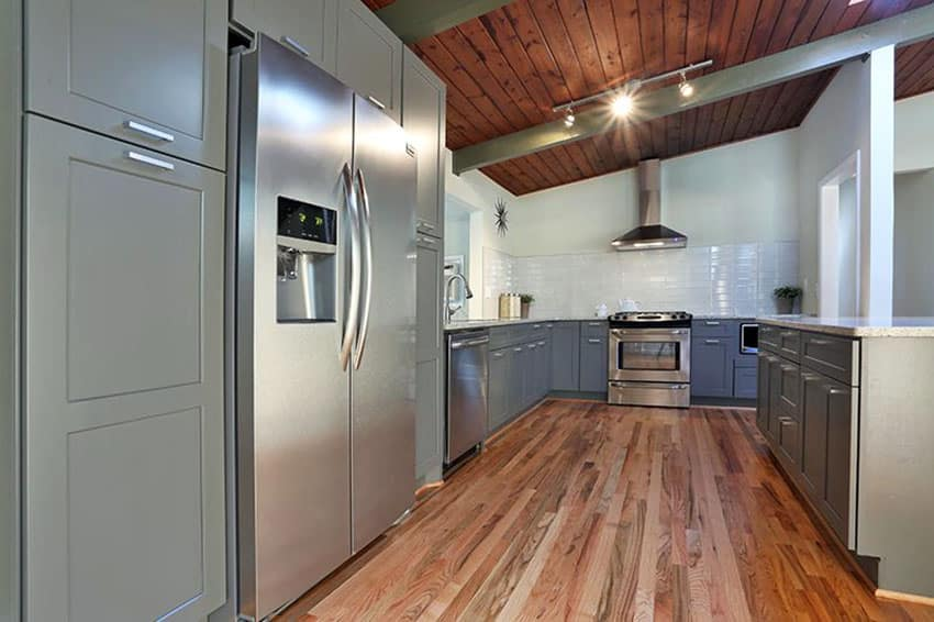 White Kitchen Oak Floor white kitchens with oak floors. https www pinterest com pin