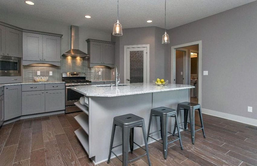 42+ Lovely Gray Kitchen Cabinets Design Ideas | Home decor ...