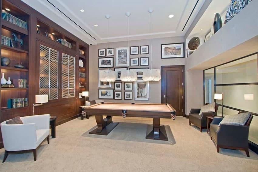 Elegant lounge room in luxury home