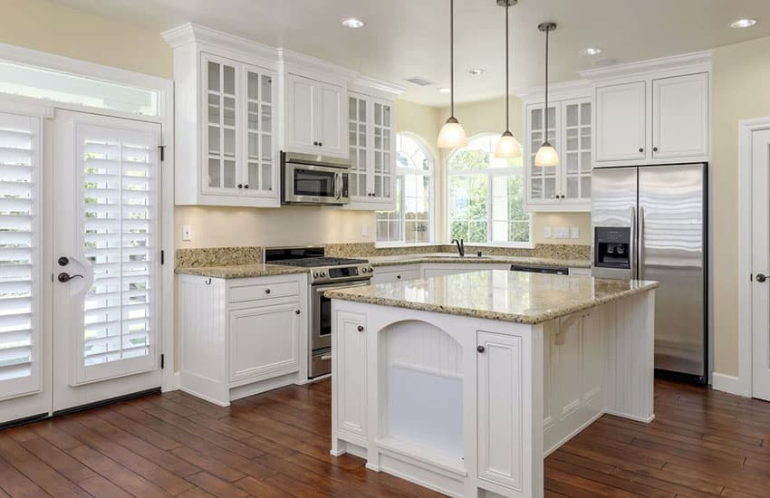Engineered hardwood in kitchen pros and cons designing for Traditional kitchen flooring