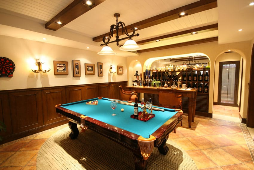 125 best man cave ideas furniture decor pictures for Basement bar table