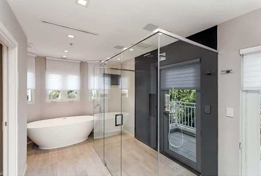 40 modern bathroom design ideas pictures designing idea for Modern bathroom window ideas