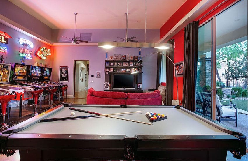 Small Man Cave Pool Table : Best man cave ideas furniture decor pictures