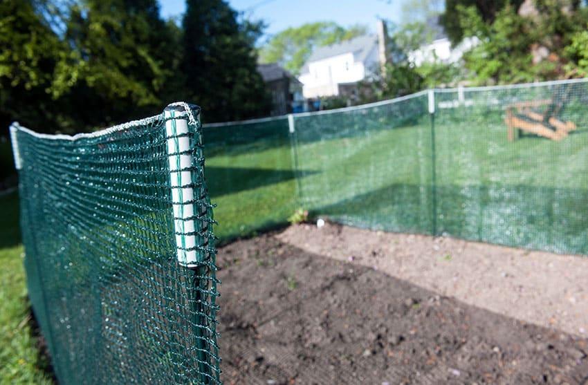 Temporary pocket fence kit