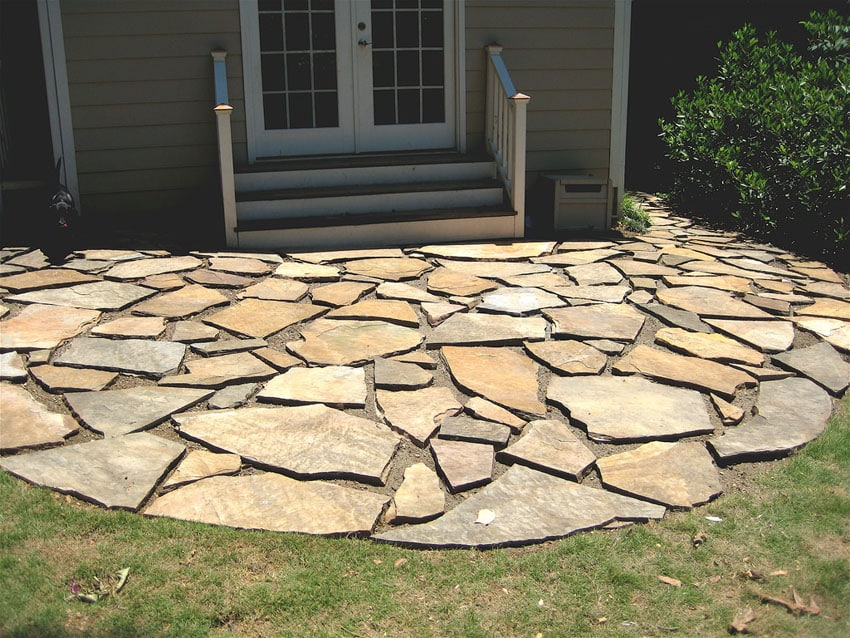 33 stone patio ideas pictures designing idea for Pictures of stone patios