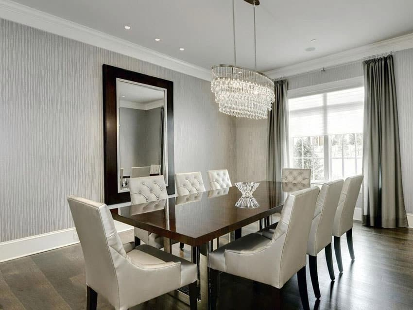 25 formal dining room ideas design photos designing idea - Dining room chandelier contemporary style ...