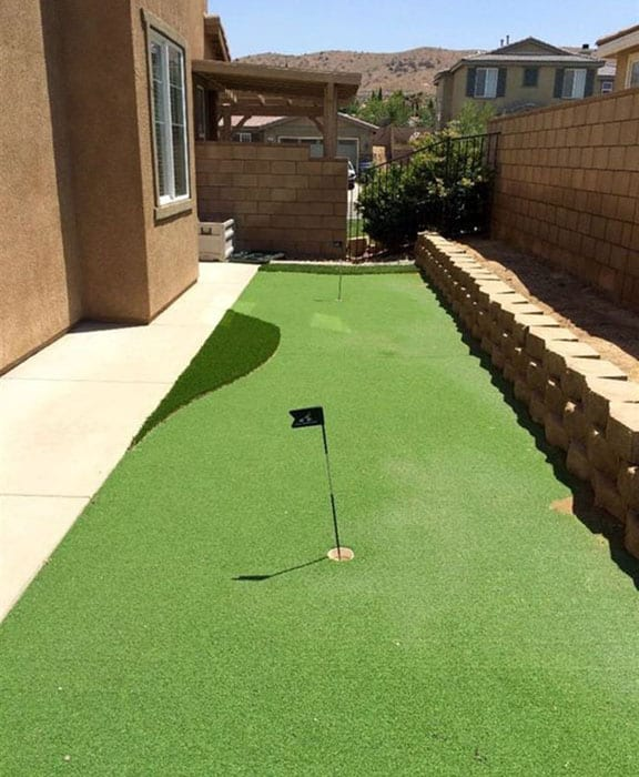 Golf Backyard Putting Green Ideas - Designing Idea