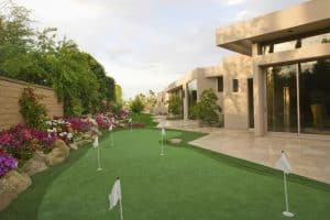 Golf Backyard Putting Green Ideas