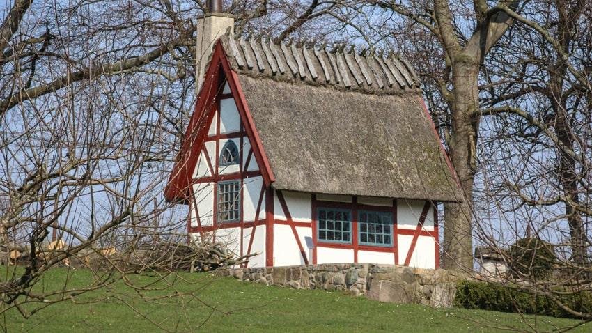 Tiny English style cottage