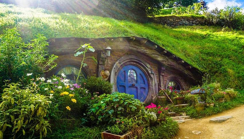 Tiny hobbit house