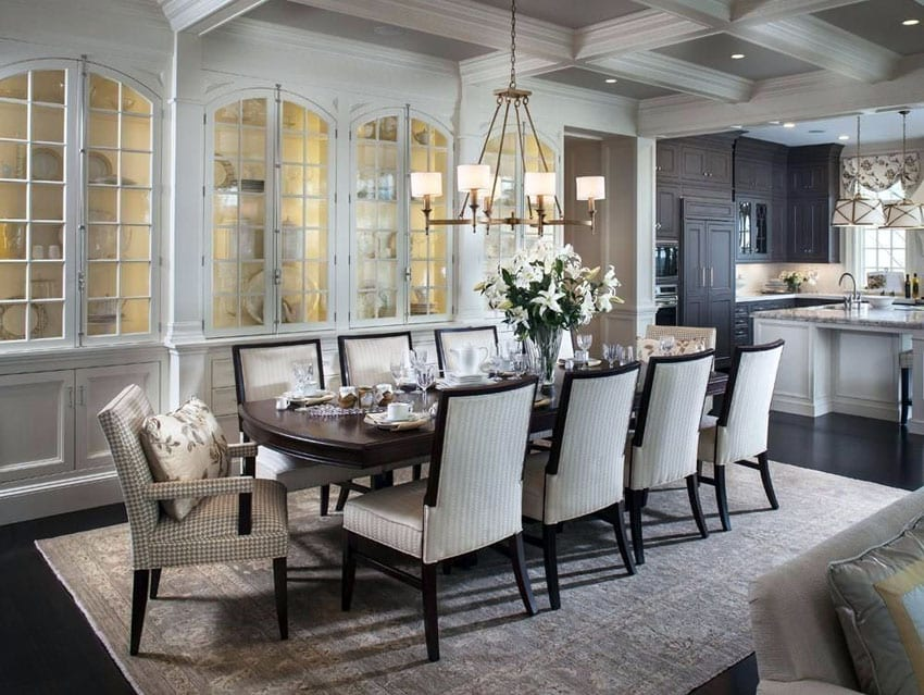 25 Formal Dining Room Ideas (Design Photos) - Designing Idea