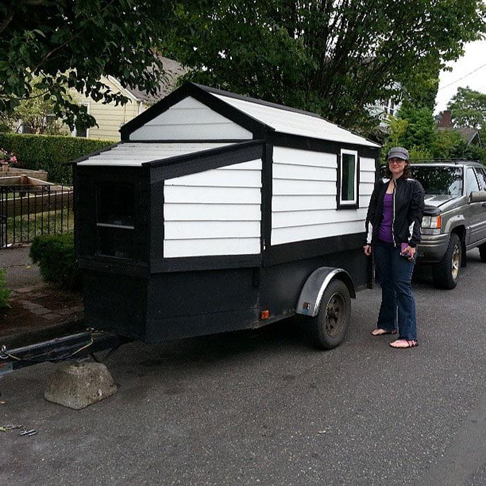 Ultra tiny house on wheels