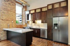 Small Kitchens with Dark Cabinets (Design Ideas)