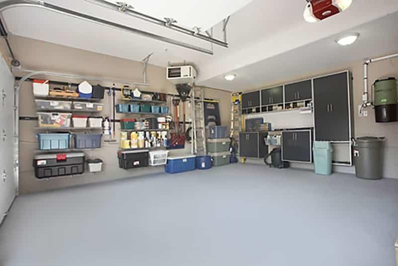 Garage makeover after picture
