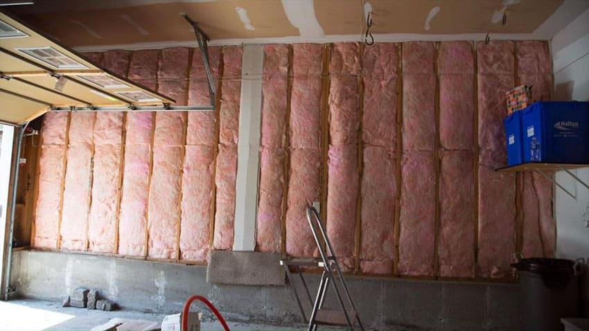Insulation for garage