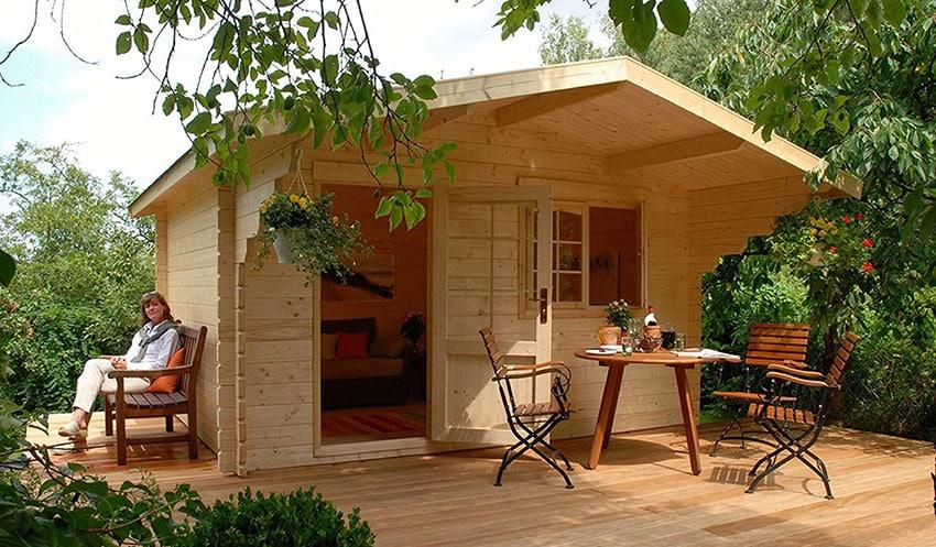 Tiny cabin house kit