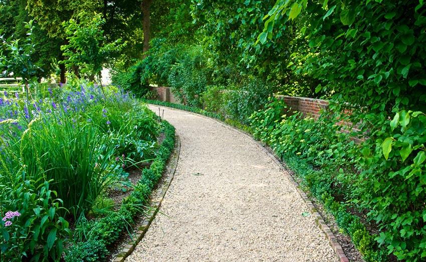 Walkway Ideas on a Budget Garden Backyard Designs