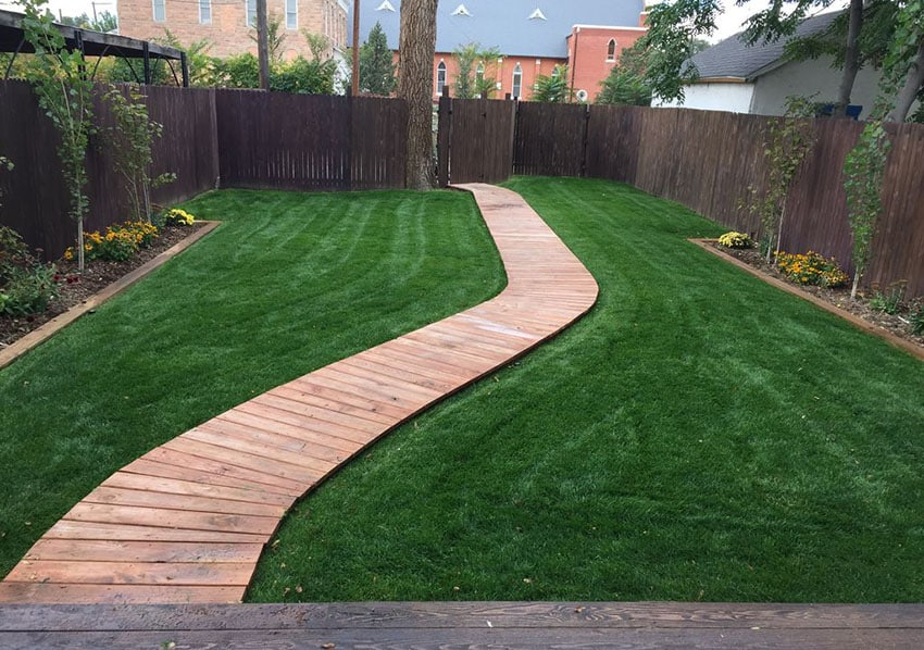 Walkway Ideas on a Bud Garden & Backyard Designs